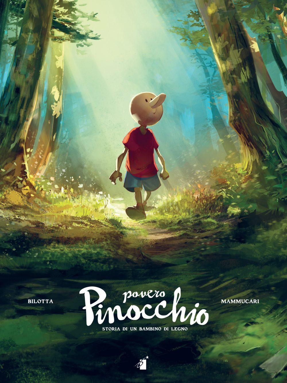 Povero Pinocchio - Edizione Deluxe, copertina di Emiliano Mammucari