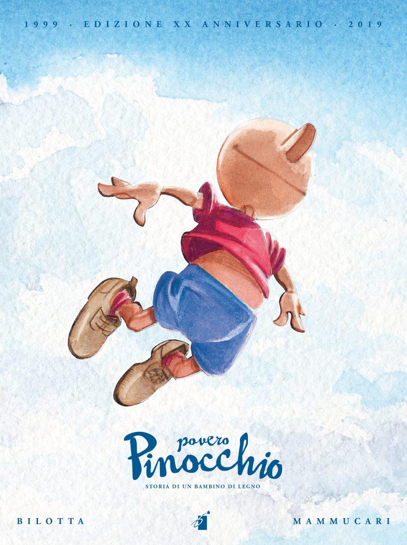 Povero Pinocchio, copertina di Emiliano Mammucari
