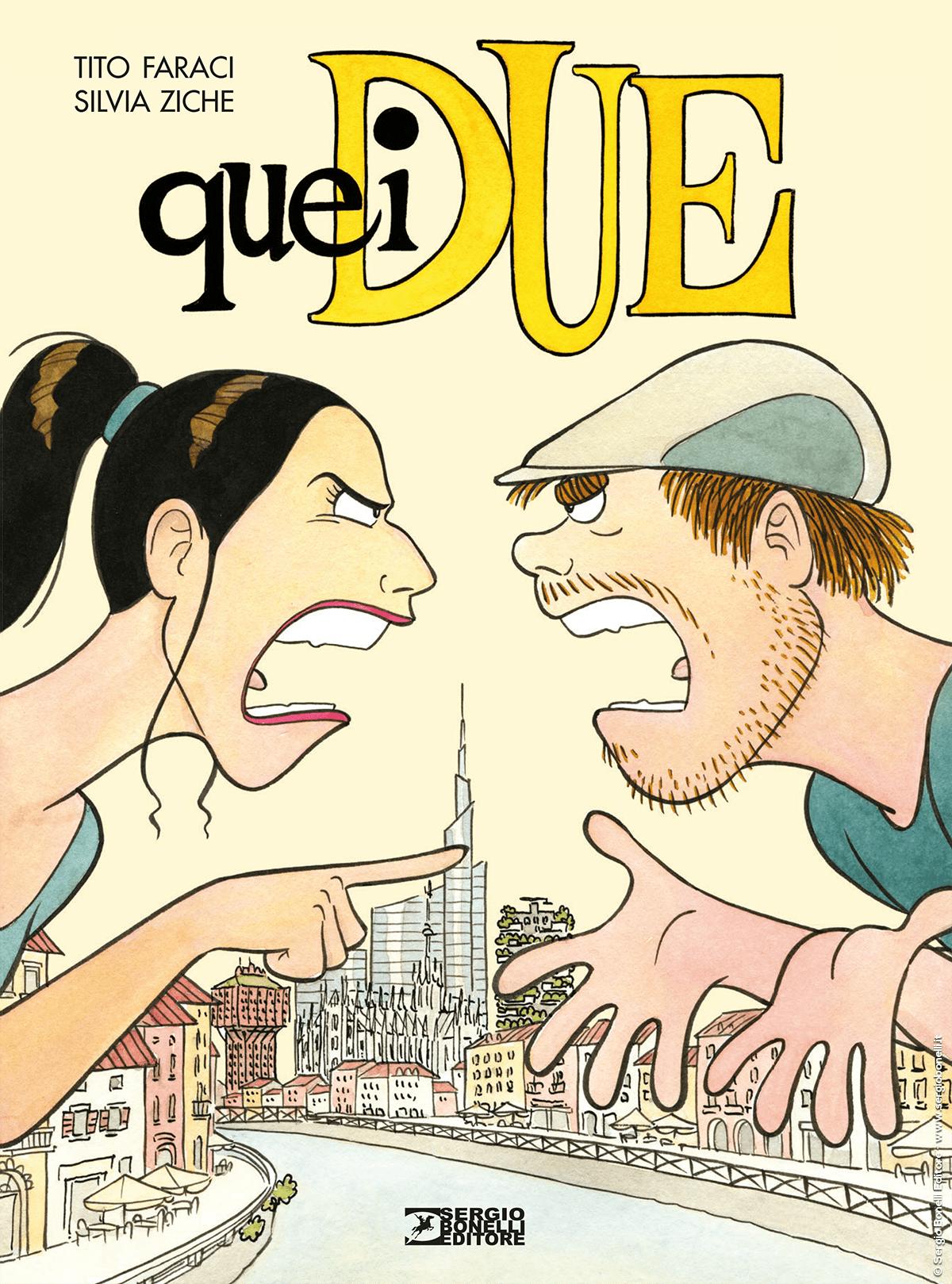 Quei due, copertina di Silvia Ziche