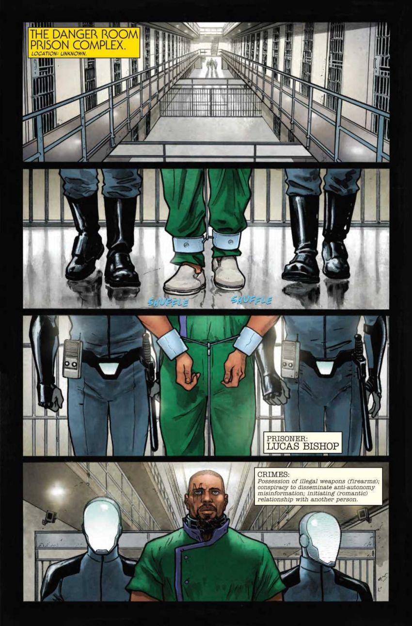 Age of X-Man - Prisioner X #1, anteprima 01