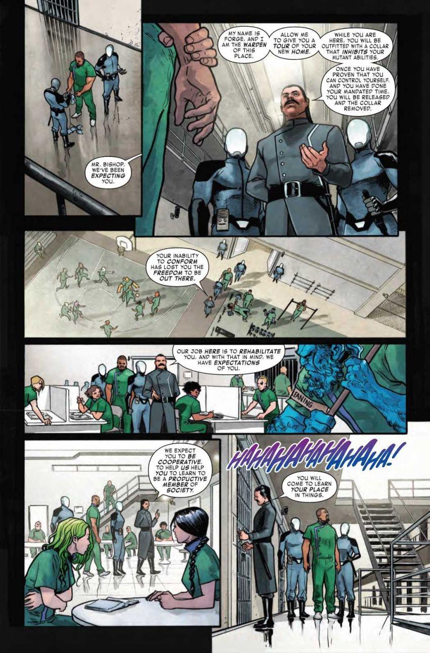 Age of X-Man - Prisioner X #1, anteprima 02