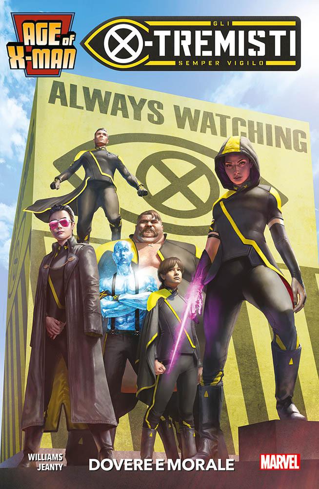 Age of X-Man - X-Tremisti: Dovere e morale, copertina di Rahzzah