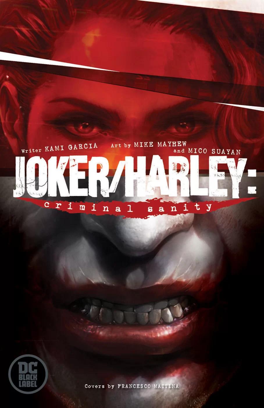 Joker/Harley: Criminal Sanity #1, copertina di Francesco Mattina