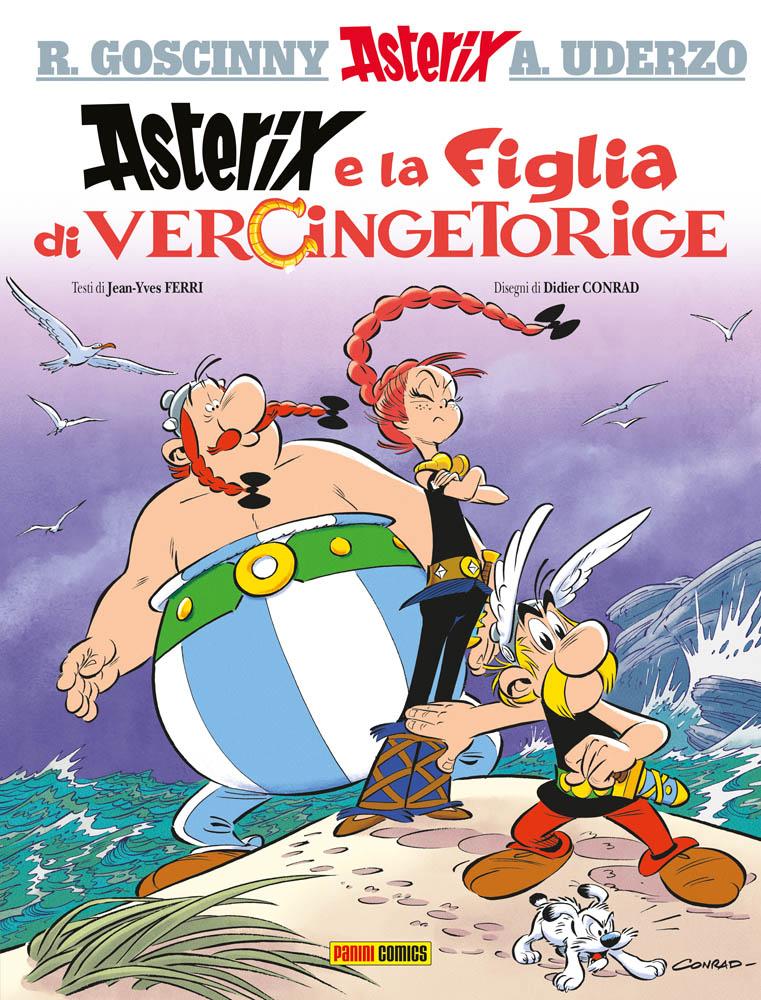 Asterix e la figlia di Vercingetorige, copertina di Didier Conrad