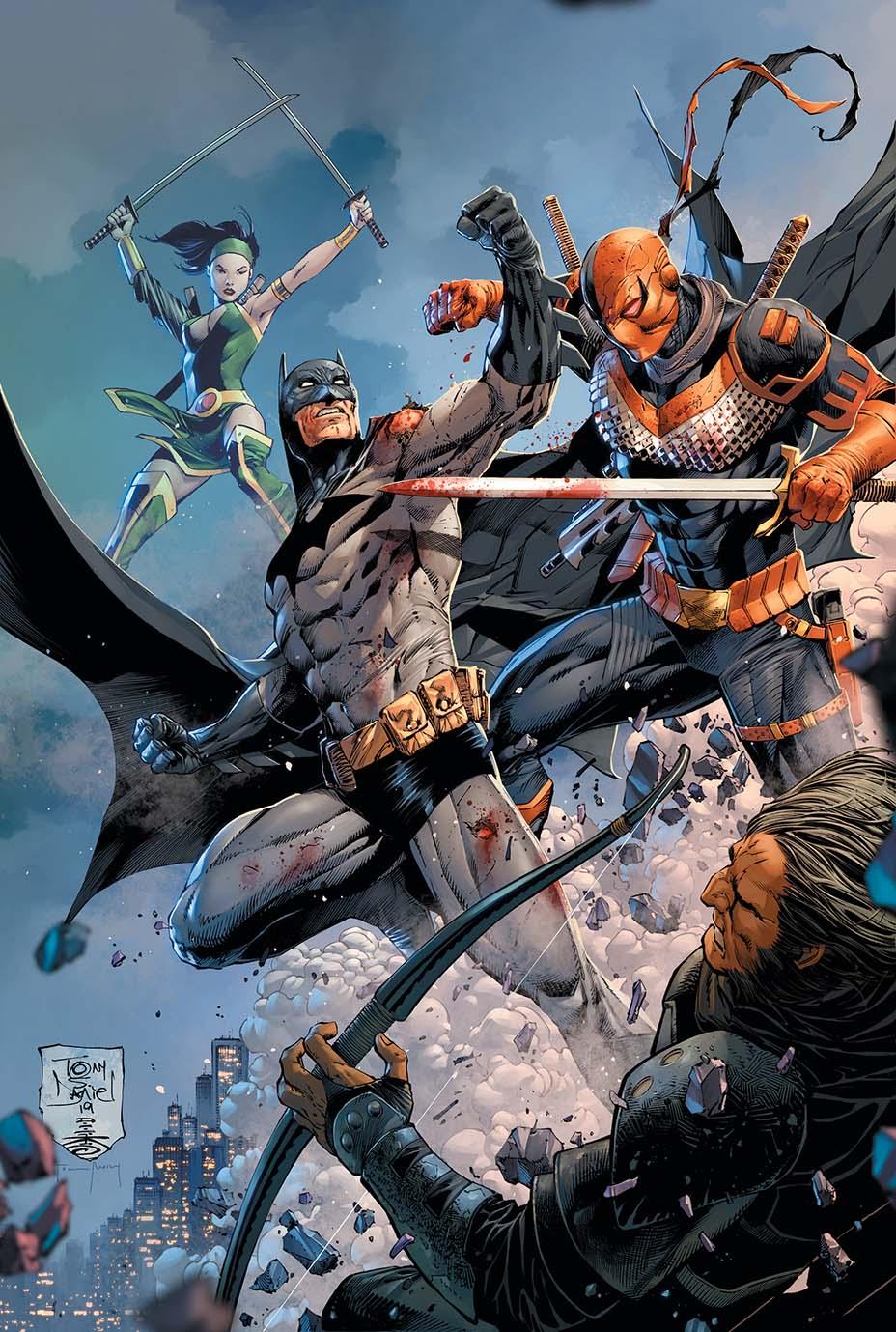 Batman #86, copertina di Tony S. Daniel