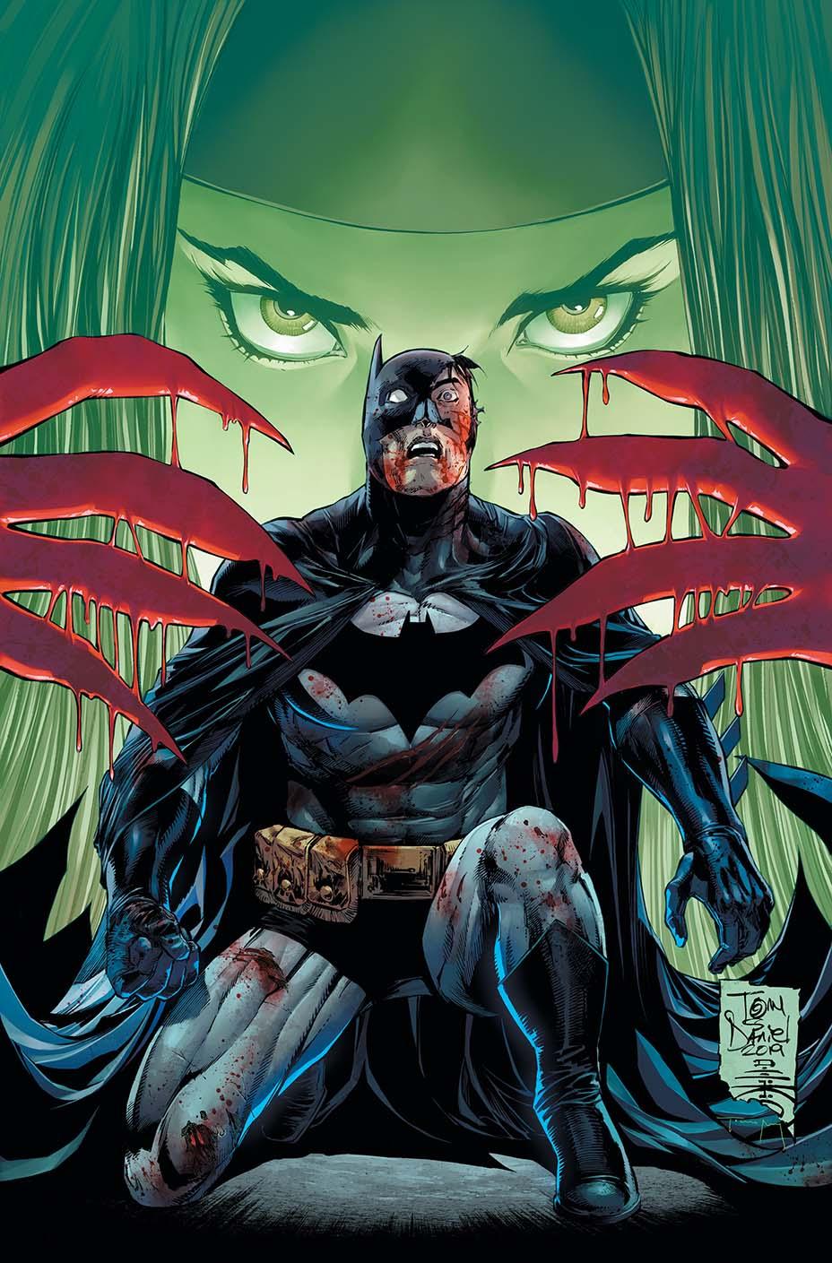 Batman #87, copertina di Tony S. Daniel