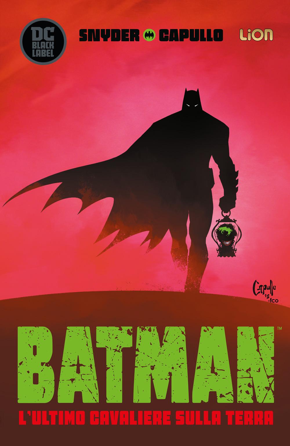 Batman: L'Ultimo Cavaliere sulla Terra, copertina di Greg Capullo