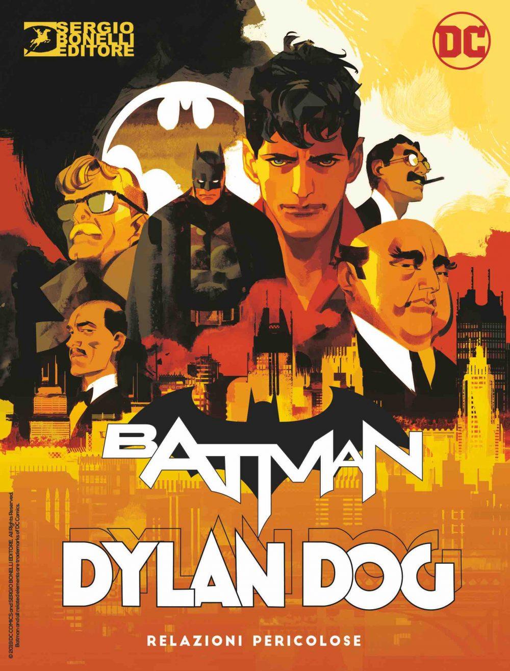 Dylan Dog & Batman, copertina di Gigi Cavenago