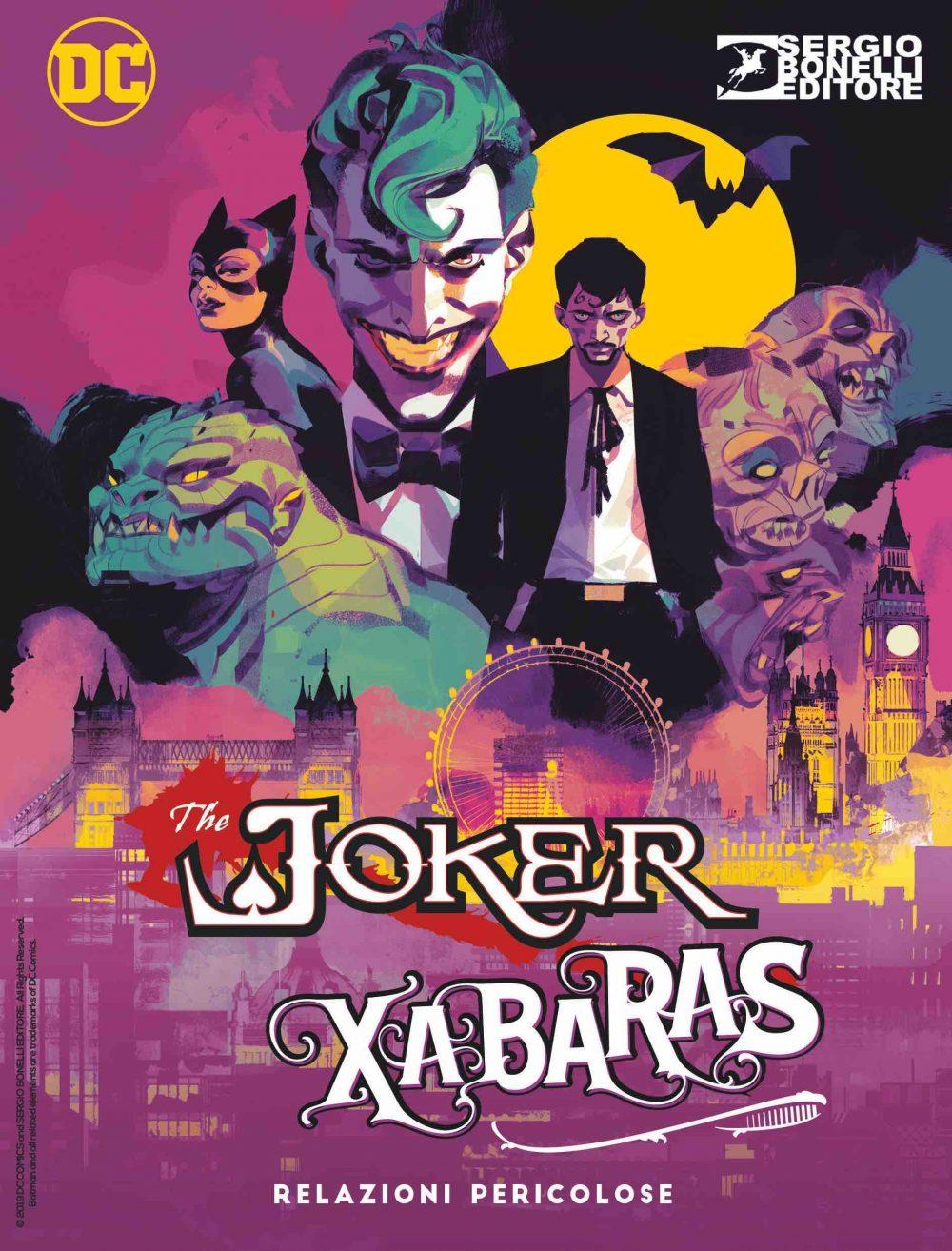 Joker & Xabaras, copertina di Gigi Cavenago