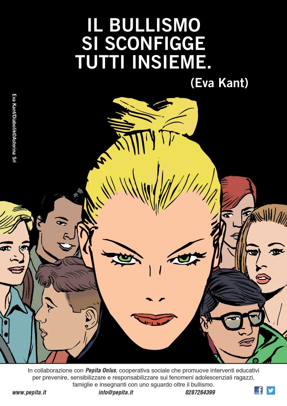 Eva contro il Bullismo: pagina speciale realizzata per la campagna organizzata da Astorina e Pepita Onlus