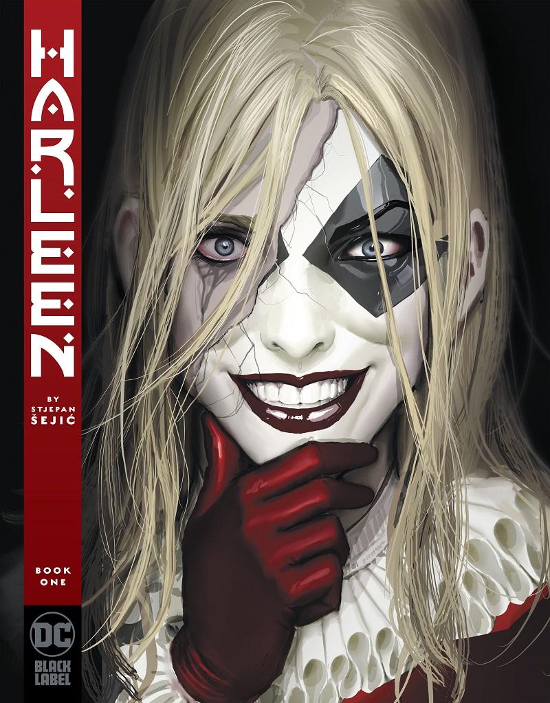 Harleen #1, copertina di Stjepan Šejić