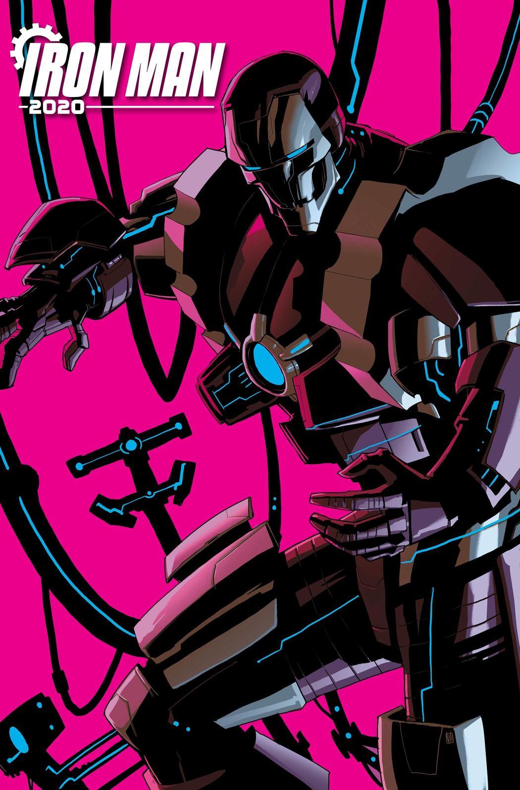 Iron Man 2020 #1, copertina di Pete Woods