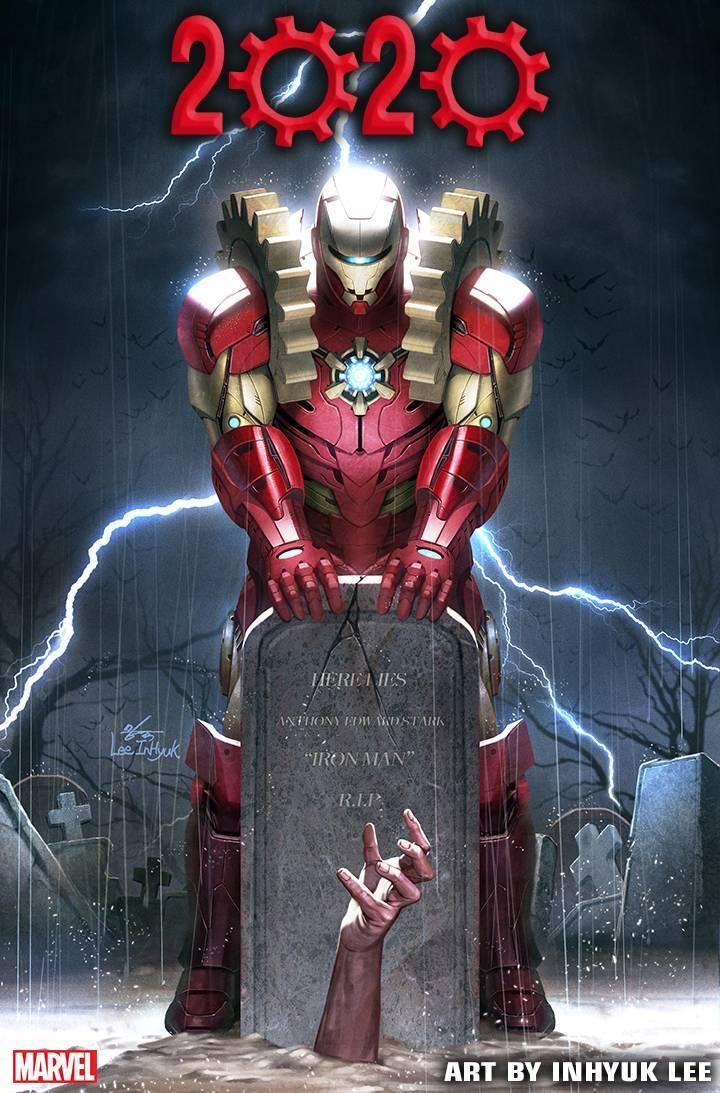 Iron Man 2020, illustrazione teaser di Inhyuk Lee