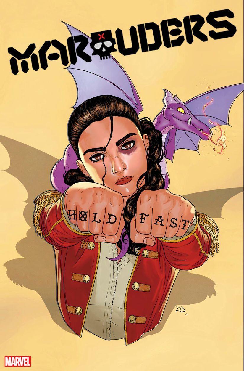 Marauders #1, copertina di Russell Dauterman