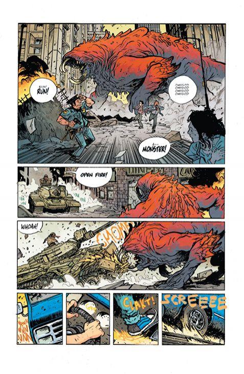 Murder Falcon #1, anteprima 01