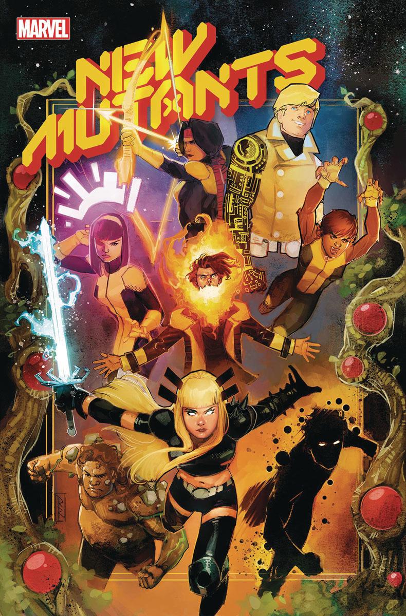 New Mutants 1 copertina di Rod Reis