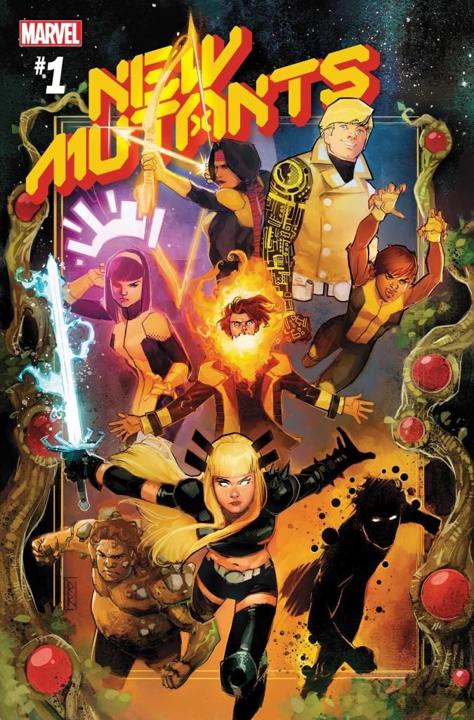 New Mutants #1, copertina di Rod Reis