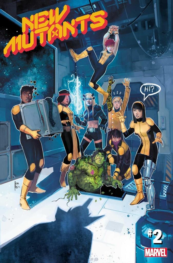 New Mutants #2, copertina di Rod Reis