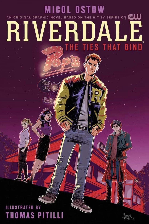 Riverdale: The Ties That Bind, copertina di Thomas Pitilli