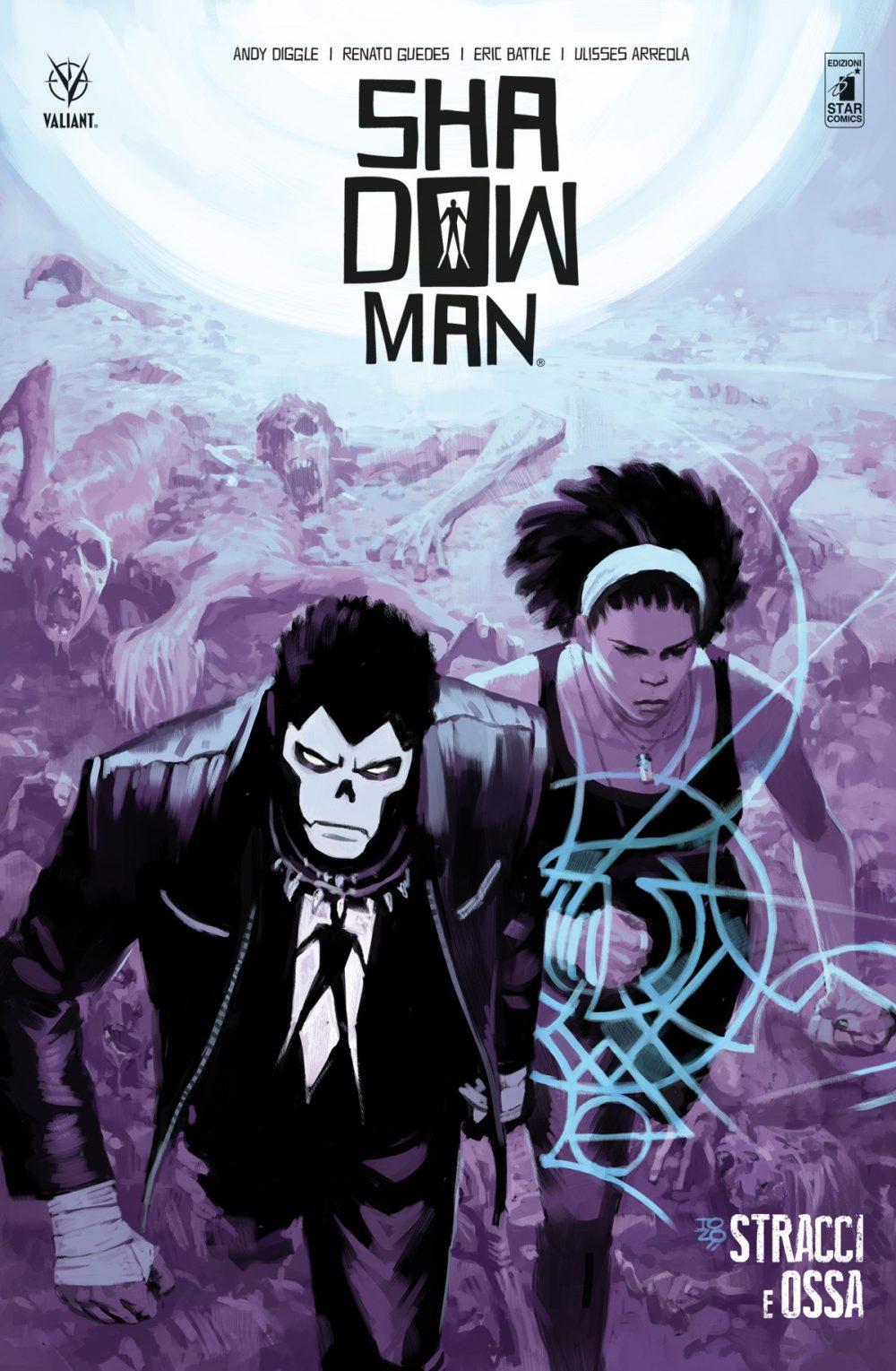 Shadowman vol. 3: Stracci e ossa, copertina di Tonci Zonjic