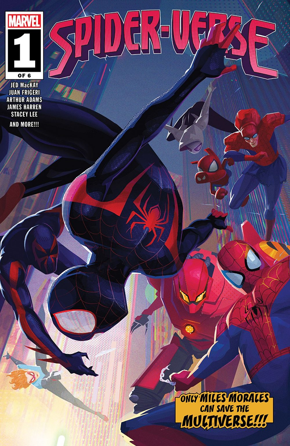 Spider-Verse #1, copertina di Wendell Dalit