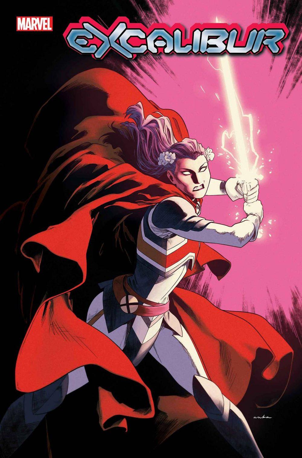 Excalibur #1, variant cover di Kris Anka