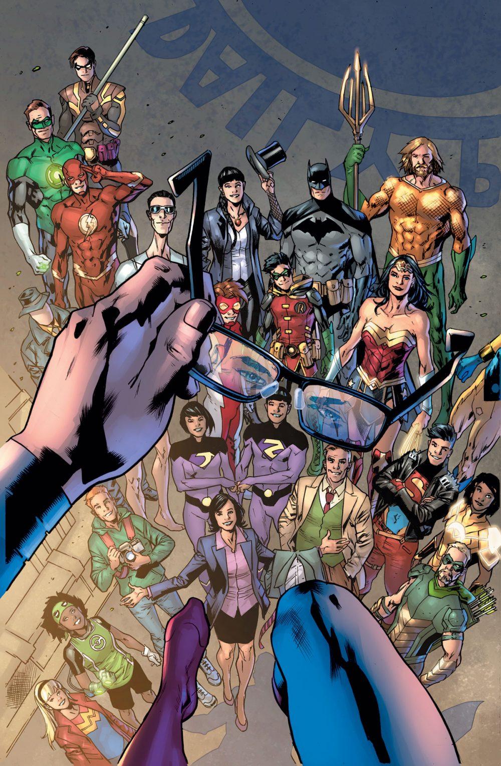 Superman: Heroes #1, copertina di Bryan Hitch