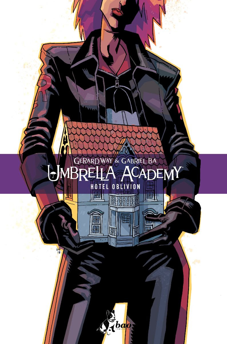 Umbrella Academy vol. 3: Hotel Oblivion, copertina di Gabriel Bá