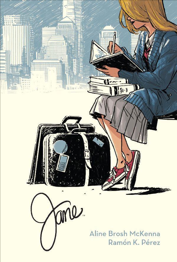 Jane, copertina di Ramón K. Pérez