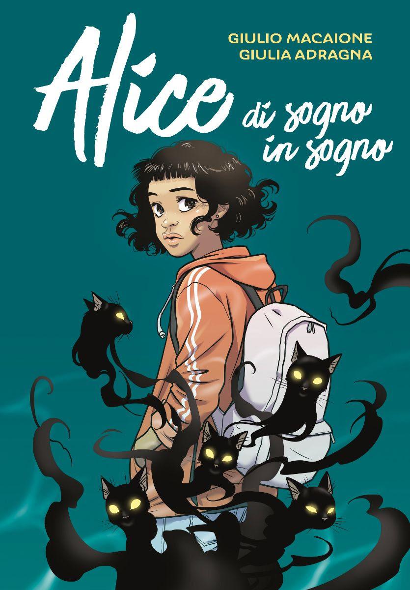 Alice di sogno in sogno, copertina di Giulio Macaione
