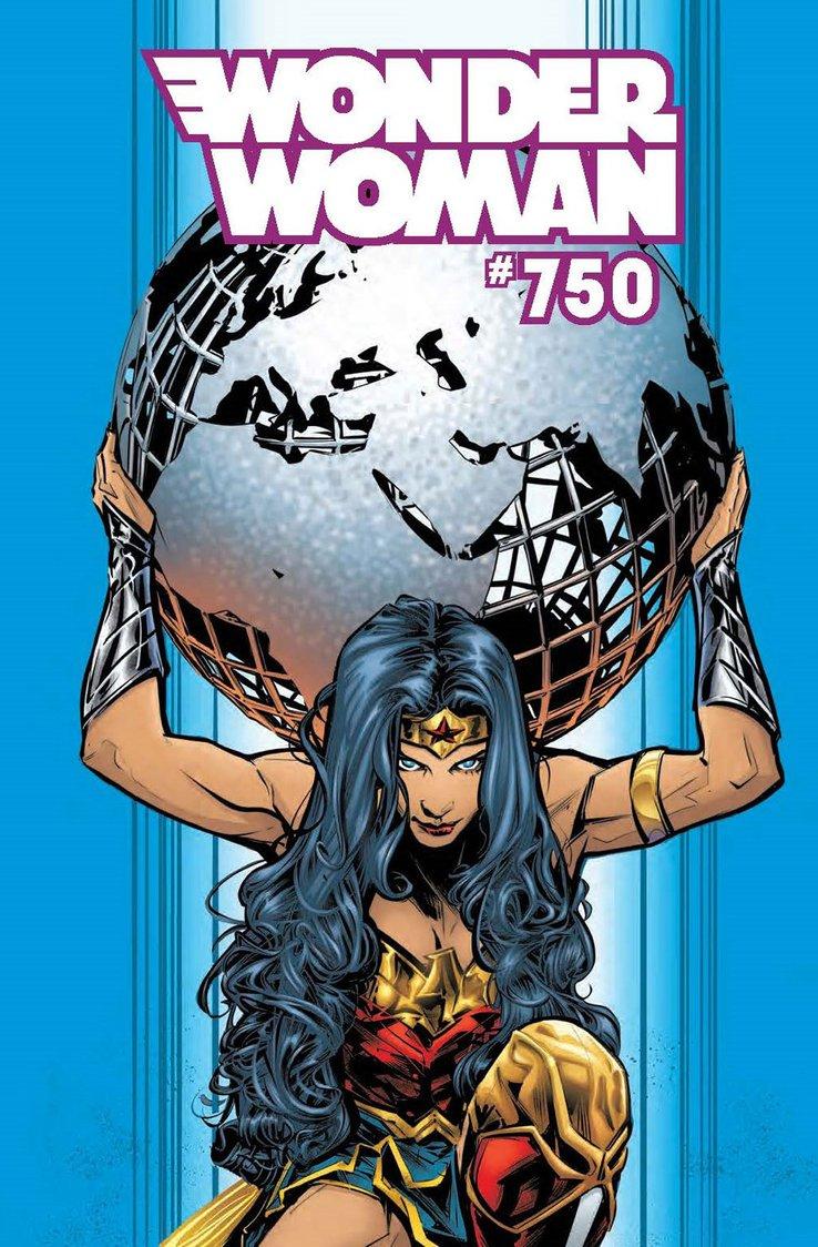 Wonder Woman #750, copertina di Joelle Jones