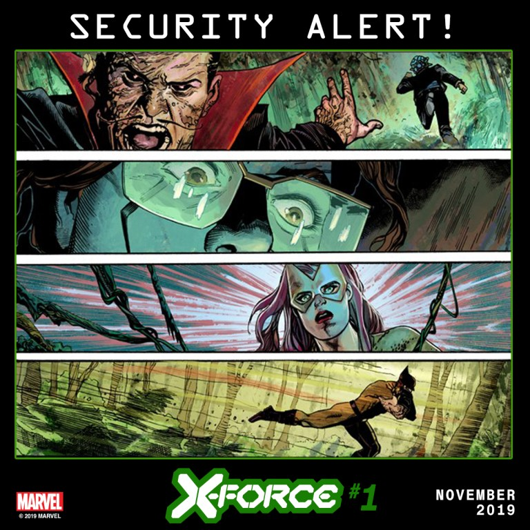 X-Force #1 Teaser
