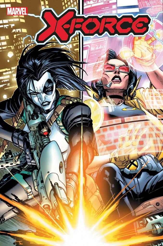X-Force #3, copertina di Dustin Weaver