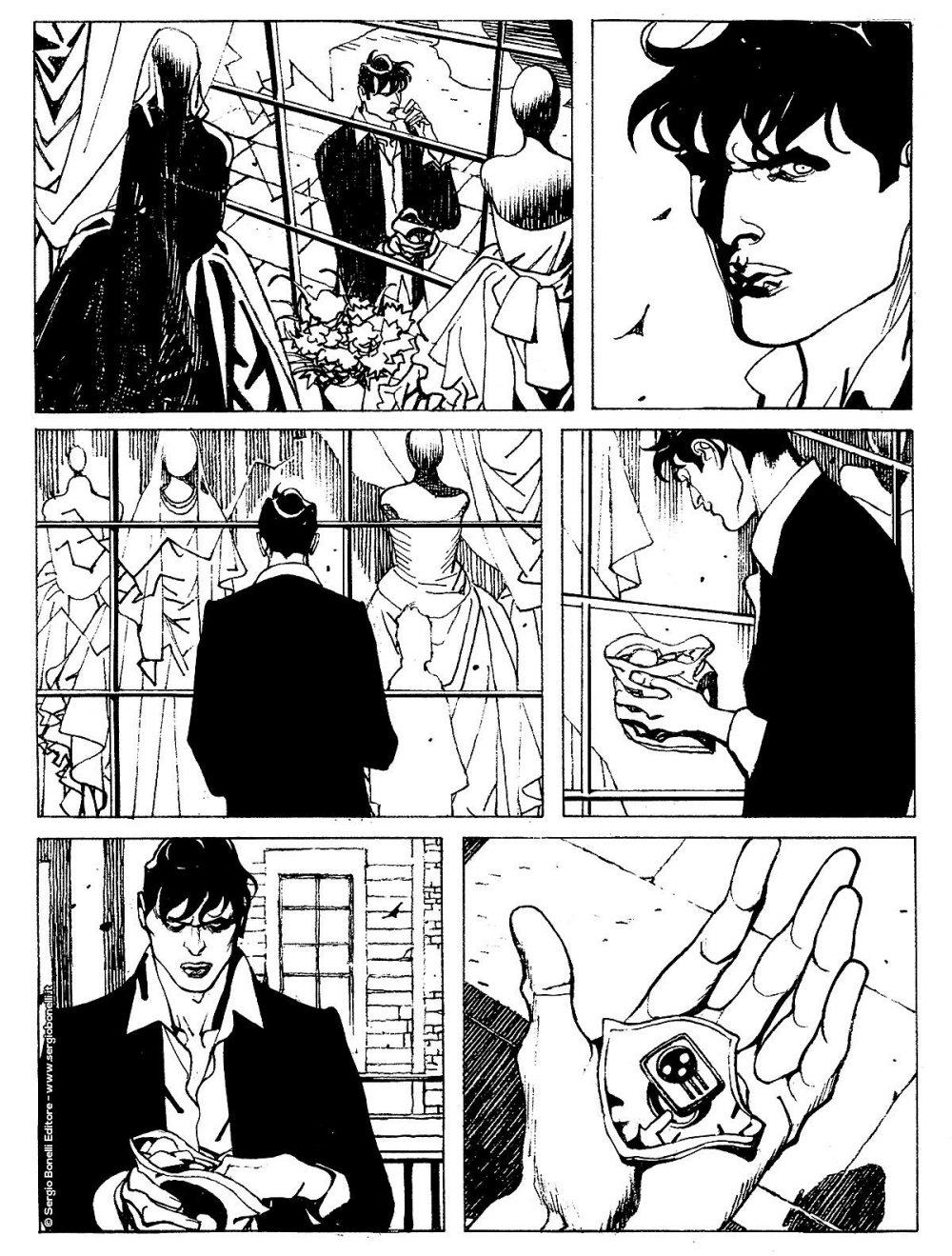 Dylan Dog 399: Oggi sposi, anteprima 02