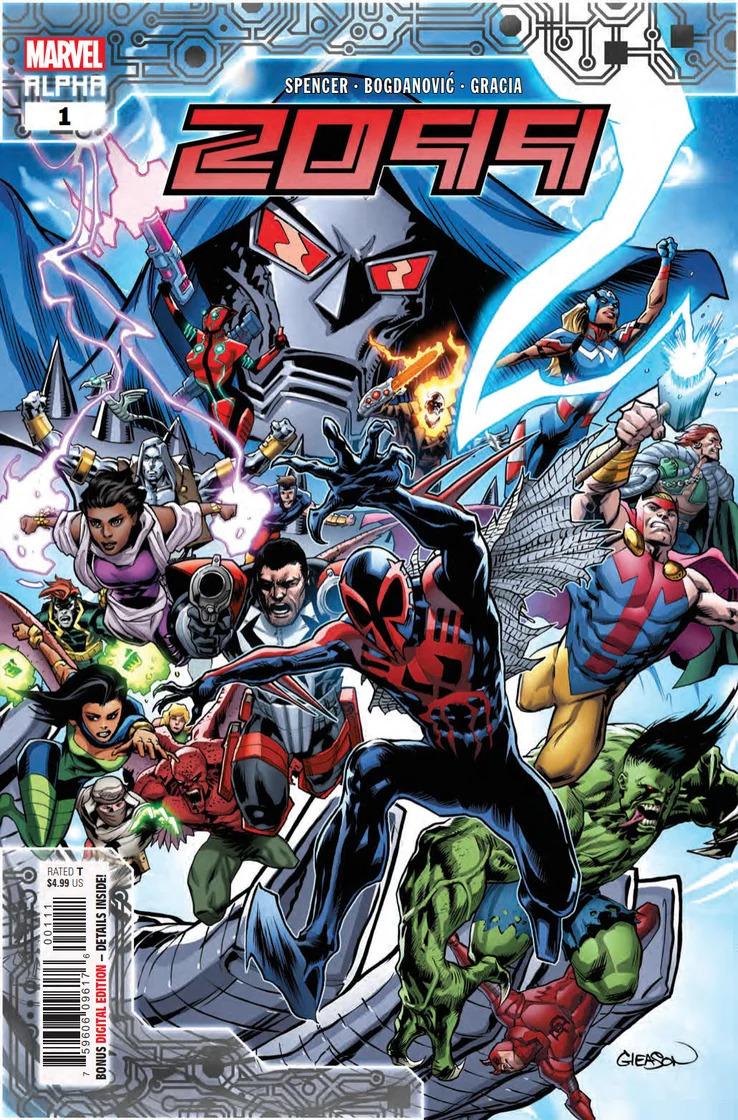2099 Alpha #1, copertina di Patrick Gleason