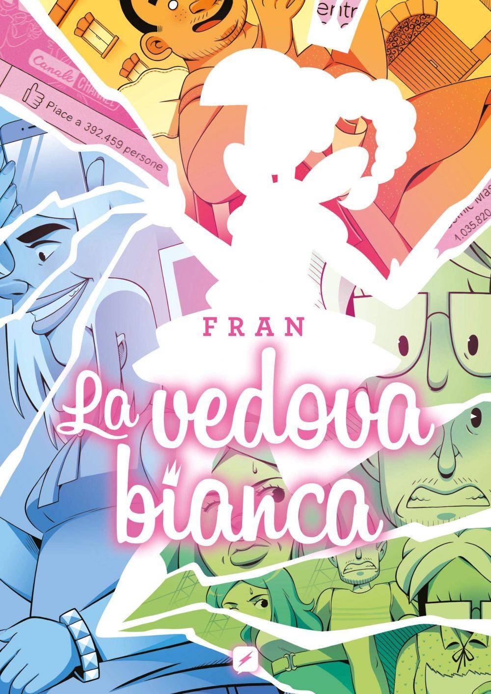 La vedova bianca, copertina di Fran De Martino