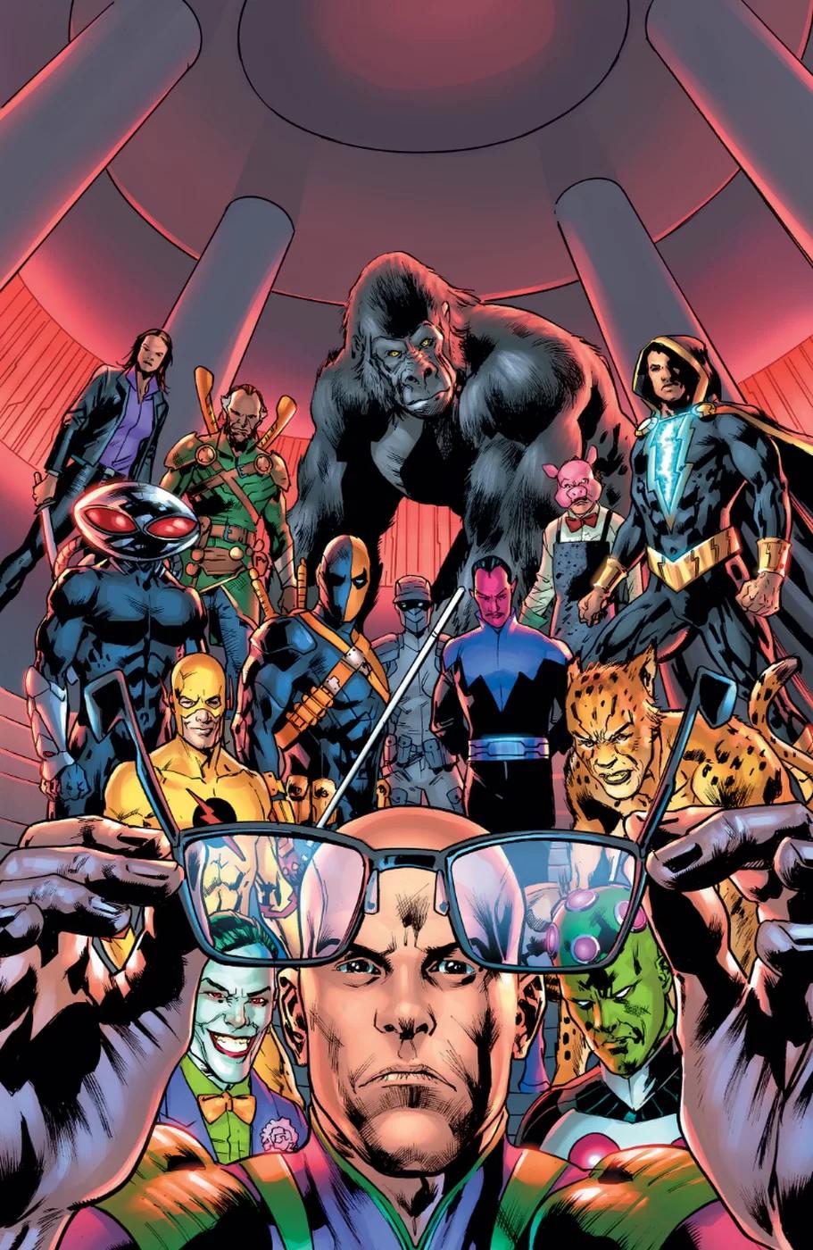 Superman: Villains, copertina di Bryan Hitch