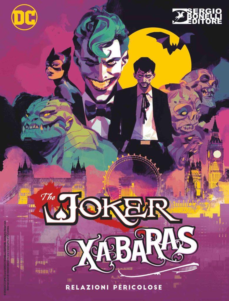 Batman - Dylan Dog: Relazioni pericolose, copertina di Gigi Cavenago (cover Villains)