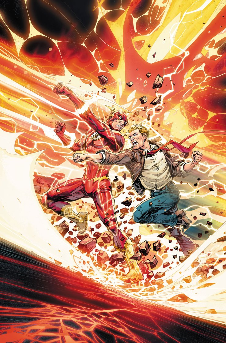 Flash #750, copertina