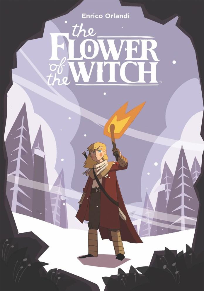 Flower of the Witch, copertina di Enrico Orlandi
