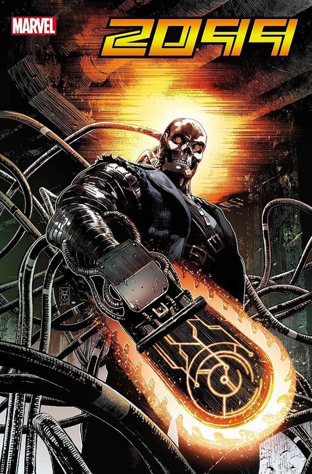 Ghost Rider 2099, copertina di Valerio Giangiordano