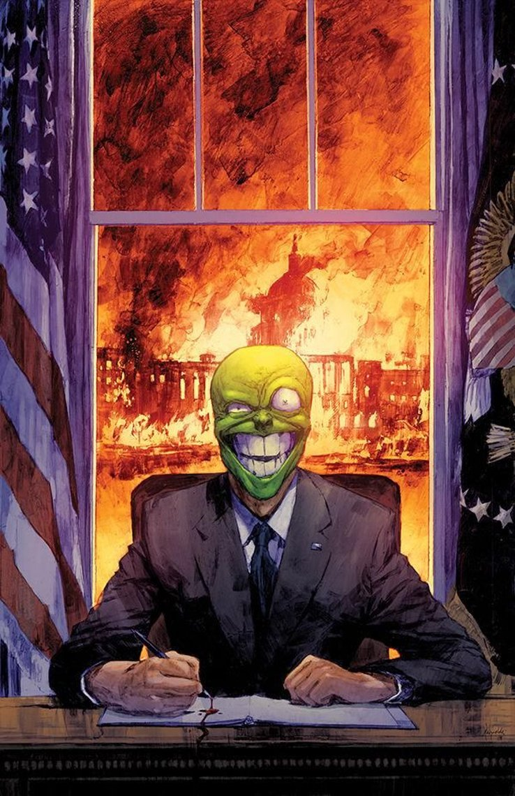 Mask: I Pledge Allegiance to the Mask #2, copertina di Patric Reynolds
