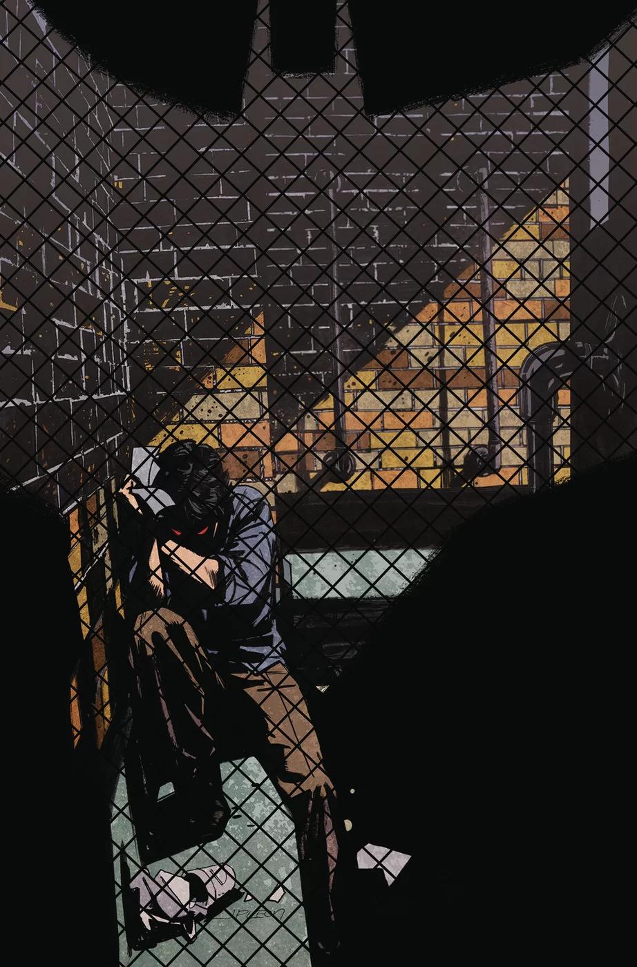 Batman: Creature of the Night #4, copertina di John Paul Leon