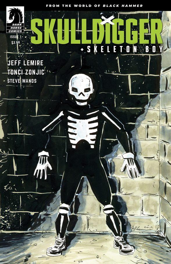 Skulldigger & Skeleton Boy #1, variant cover di Tonci Zonjic