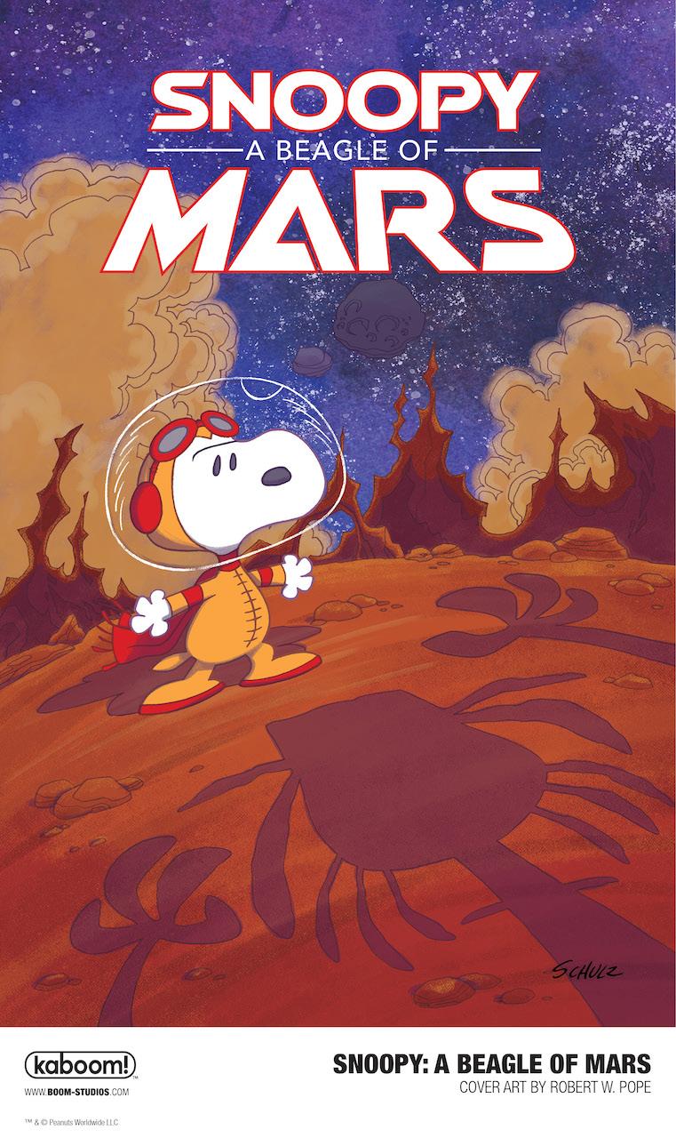 Snoopy: A Beagle of Mars, copertina di Robert Pope