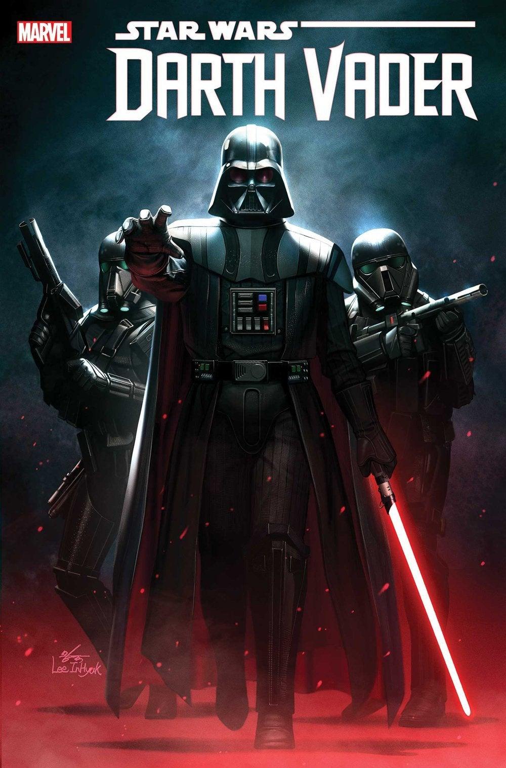 Darth Vader #1, variant cover di InHyuk Lee