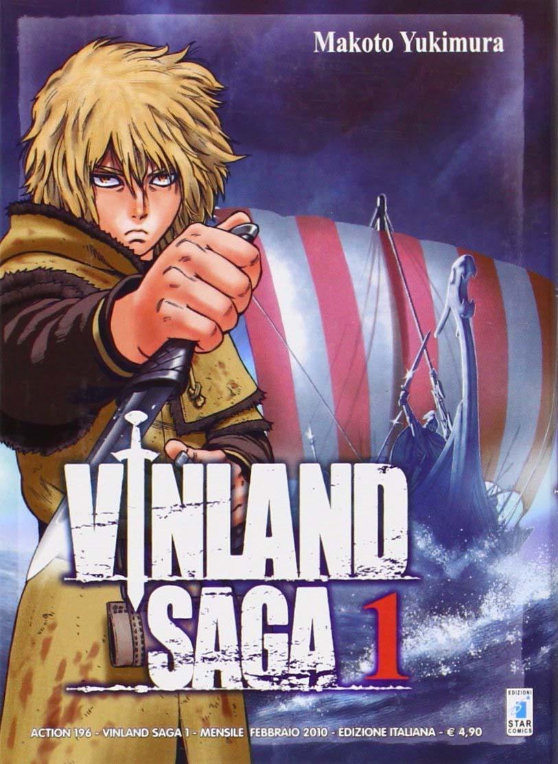 Vinland Saga 1, copertina di Makoto Yukimura
