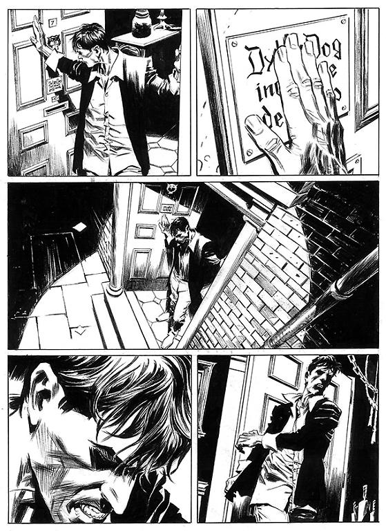 Dylan Dog 345 - Disegno di Raul e Gianluca Cestaro