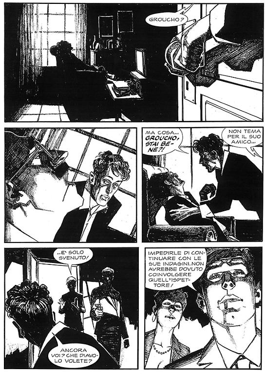 Dylan Dog Magazine - Disegno di Fabrizio De Tommaso