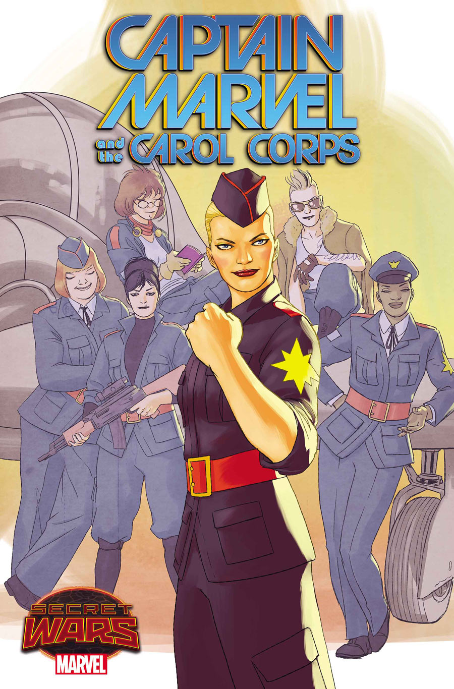 Captain Marvel & The Carol Corps Copertina